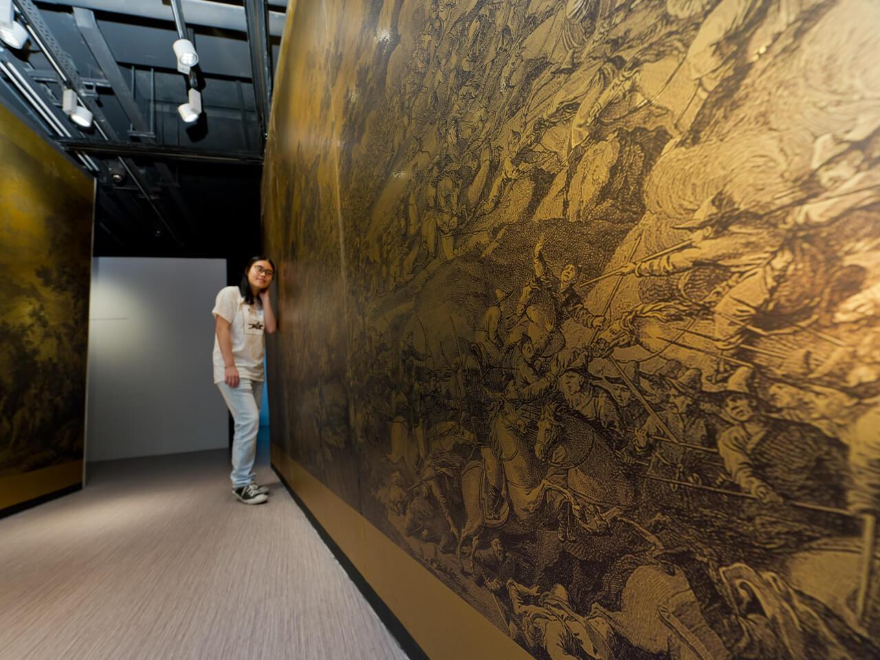 giuseppe castiglione  lang shining new media art exhibition