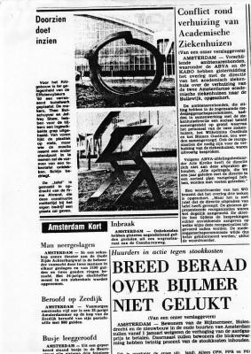 Newspaper Coverage [Dutch]